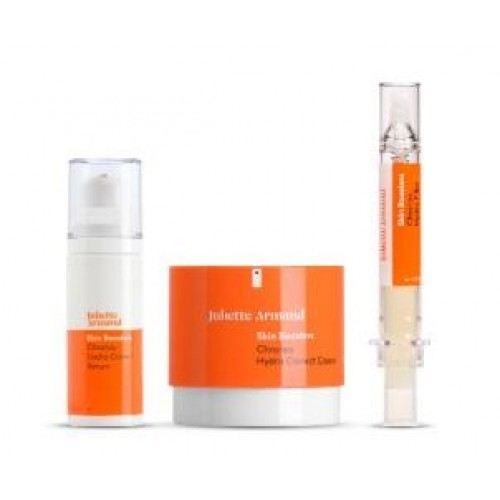 JULIETTE ARMAND - Set antiage netezire si umplere crema ser filler - Chronos Set 50+30+10ml