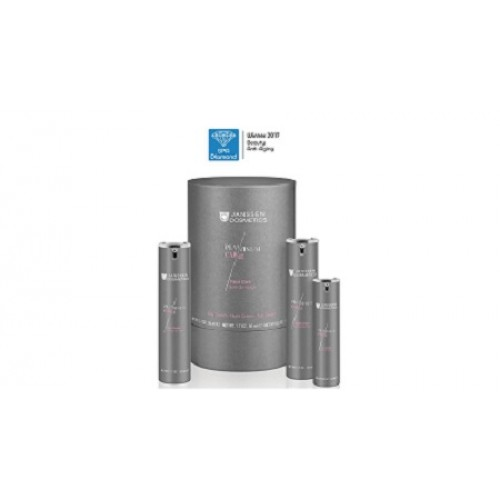 JANSSEN - Set antiimbatranire cu platina coloidala si acid hialuronic - Face Care Platinum Set 50+50+15ml