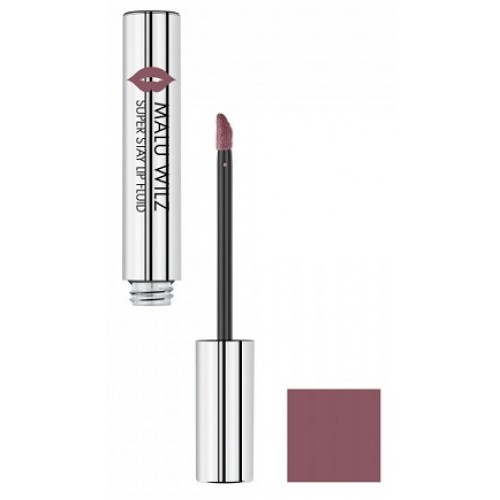 MALU WILZ - Ruj hidratant mat ultra rezistent 01 violet nud - Super Stay Lip Fluid  01 Purple nud 3ml