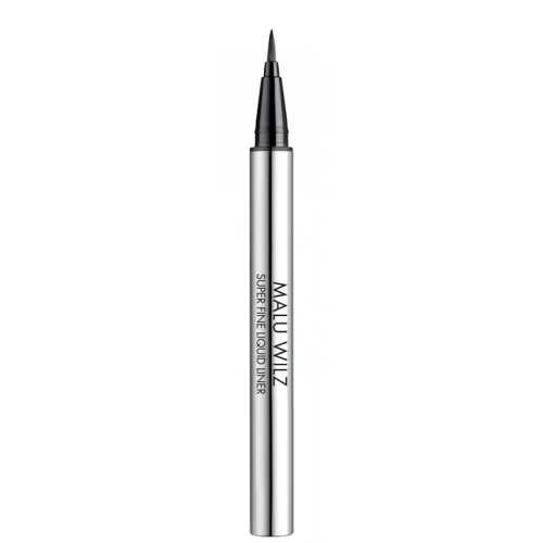MALU WILZ - Tus contur ochi maro 02 semi-mat cu pensula de fibre - Super Fine Liquid Liner 2 0,55ml