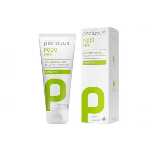 PECLAVUS Podo care - Crema nutritiva de picioare protectoare cu lanolina si ulei de Avocado (nou) -  75ml