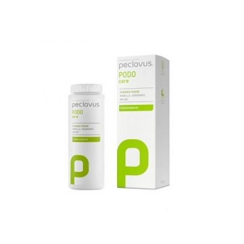 PECLAVUS Podo care - Deodorant pudra pentru picioare cu plante medicinale si rozmarin 75 ml