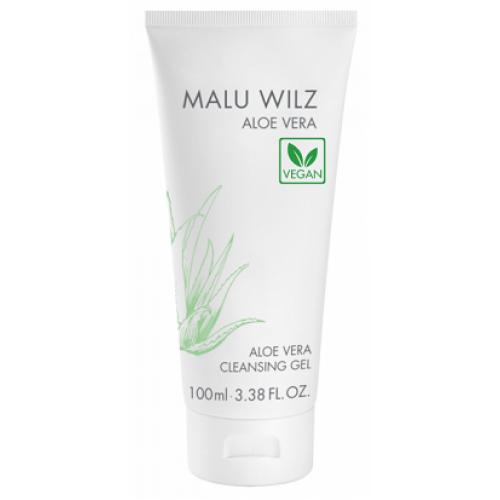 MALU WILZ Aloe Vera - Gel demachiant vegan hidratant cu Aloe Vera si ananas - Aloe Vera Cleansing Gel 100 ml