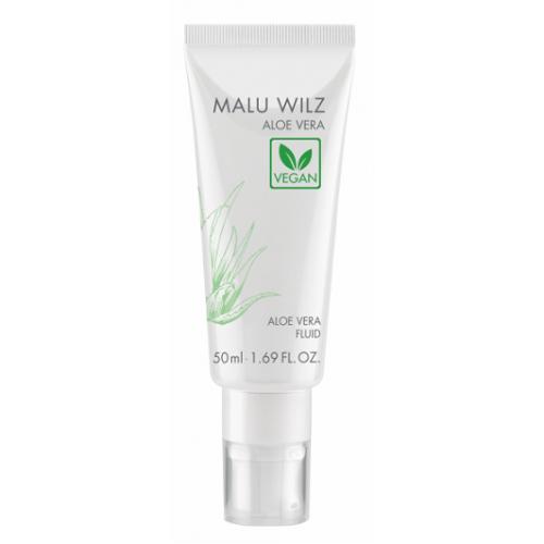MALU WILZ Aloe Vera - Crema-gel vegana hidratanta cu Aloe Vera ananas lamaie - Aloe Vera Fluid 50 ml