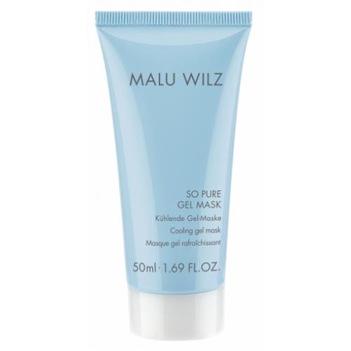 MALU WILZ - Mască gel racoritoare antirid hidratanta cu matase si perle orice tip de ten - So pure Mask 50 ml