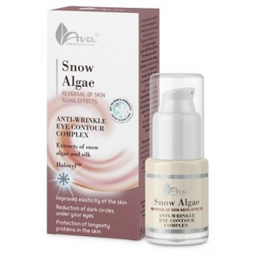 AVA Laboratory® Snow Algae - Crema anticearcan antirid de ochi cu alge de zapada si vitamine - Snow Algae Eye Cream 15ml