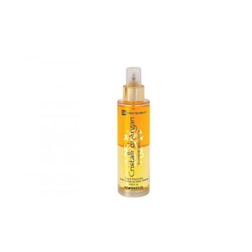 BRELIL Cristalli di Argan - Spray bifazic par uscat cu ulei organic de argan si aloe vera - Cristalli di Argan Spray  120ml