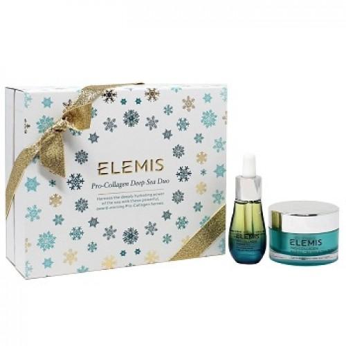 ELEMIS - Set ingrijire ten uscat crema si ser - Pro-Collagen Deep Sea Duo 30+15ml