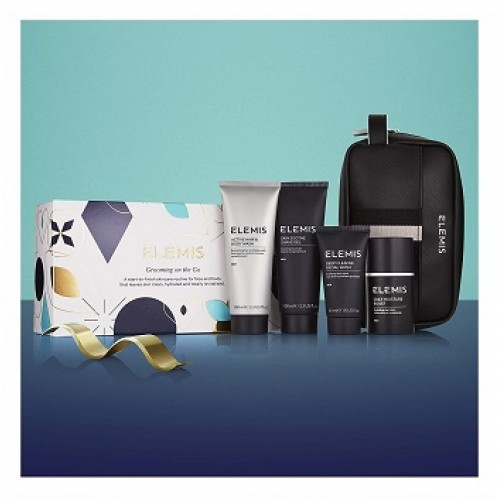 ELEMIS - Set ingrijire fat si corp pentru el - Grooming On The Go Gift Set 100+100+50+50ml