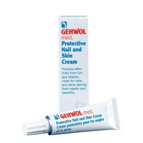 GEHWOL - Crema protectoare dezinfectant pentru unghii fragile casante - Protective Nail & Skin Cream  15ml