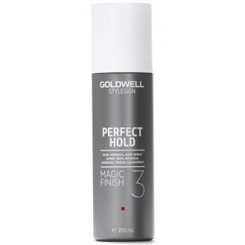 GOLDWELL Perfect Hold - Fixativ fixare medie si stralucire 3 din 5 - Magic Finish 50 ml