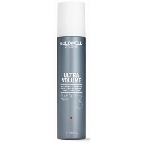 GOLDWELL Ultra Volume - Spuma pentru stralucire si volum cu fixare medie 3 din 5 - Glamour Whip 50 ml