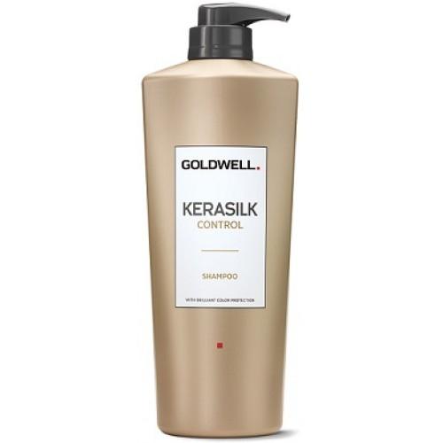 GOLDWELL Kerasilk Control - Sampon pentru netezire par uscat degradat - Control Sampon 1000ml