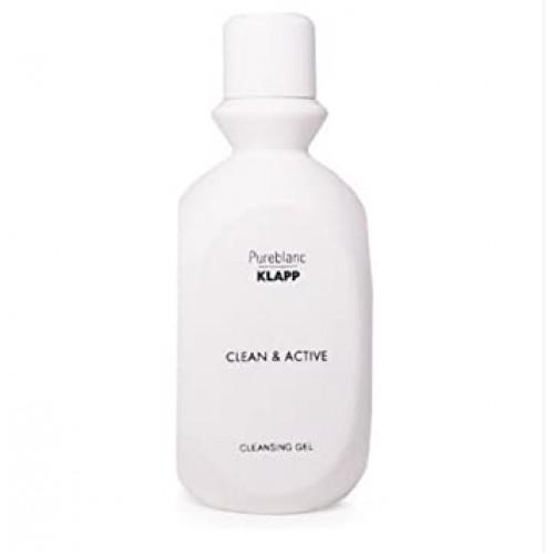KLAPP CLEAN & ACTIVE - Lapte demachiant orice ten - CLEANSING LOTION 1000 ml