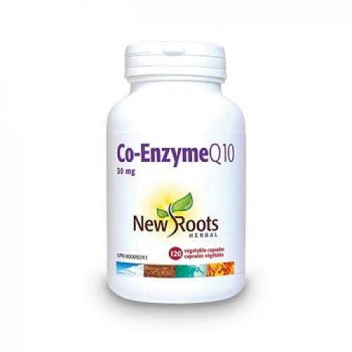 NEW ROOTS - Co-Enzyme Q10 - antioxidant ateroscleroza colesterol diabet inima imunitate hipertensiune 120caps/30mg