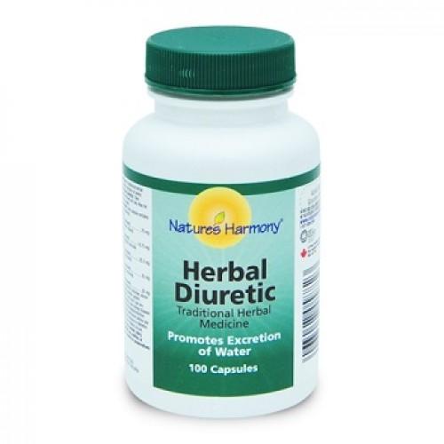 NATURES HARMONY - Herbal Diuretic  - celulita detoxifica sistemul urinar previne pietrele la rinichi 100 caps
