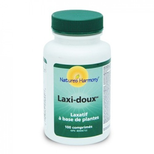 NATURES HARMONY - Laxi-doux – constipatie 100 tab