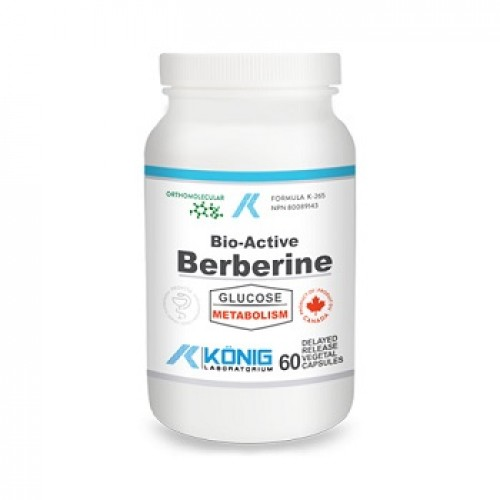 KONIG - Bio-Active Berberine (Berberina) - diabet de tip 2 pre-diabet rezistenta la insulina - 60 caps  veg cu eliberare intarziata