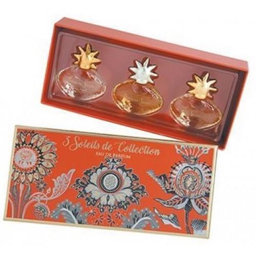FRAGONARD - Set 3 mini apa de parfum - 3 Soleil de Colection - Soleil, Grand du Soleil, Coeur du Soleil 3x7ml