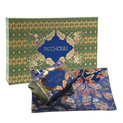 FRAGONARD - Set apa de toaleta Patchouli si savoniera de sticla pictata - Patchouli Gift set 100ml+1buc