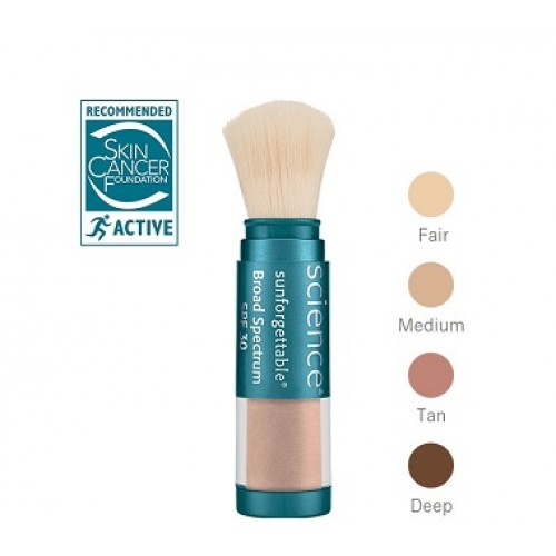 COLORSCIENCE - Pudra cu protectie solara SPF30 deschisa - Sunforgettable Brush On Sunscreen SPF 30 Fair 6gr