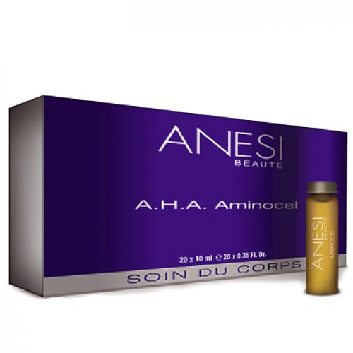 ANESI Corp - Fiole slabit celulita dura -  AHA Aminocel 10 x 20ml