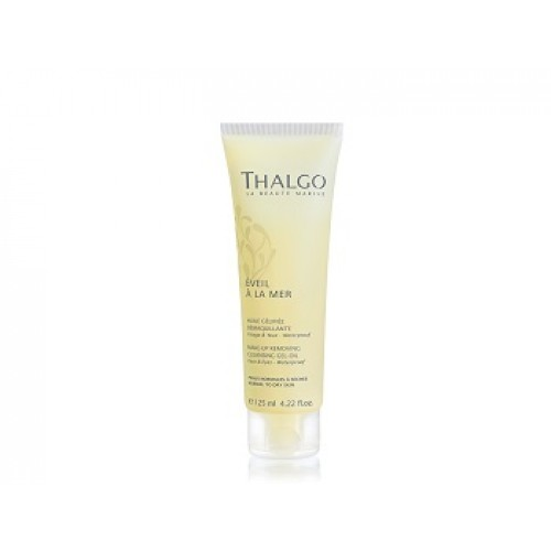 THALGO - Gel-ulei-lapte demachiant pentru ten normal uscat - Make-up removing cleansing gel-oil 125ml