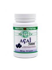PROVITA - Acai 5000 - antioxidant, cancer, diabet, inima, osteoporoza, - 600mg/90 caps