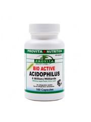 PROVITA - Acidofilus Lactobacilus Bio-Activ - absorbtie, acnee, digestie  60/100 cps