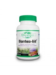 ORGANIKA - Anti-Diareic - Diarrhea-Aid 60 caps/600 mg