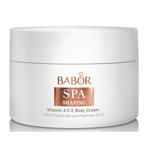 BABOR Spa Shaping - Crema de corp cu efect de reconturare a siluetei - Vitamina A,C,E Body Cream 200ml