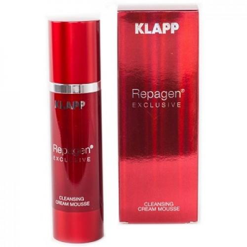 KLAPP REPAGEN® EXCLUSIVE - Demachiant spuma cremoasa -  Cleansing Cream Mousse 100ml