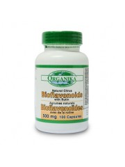 ORGANIKA - Bioflavonoizi citrici cu rutina - circulatie, varice, prostata, cancer 500 mg/100 capsule