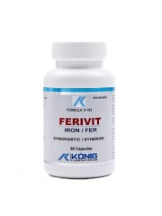 KONIG - Ferivit - Fier sinergic, anemie, hemodializa, leucemie 15mg/60 caps