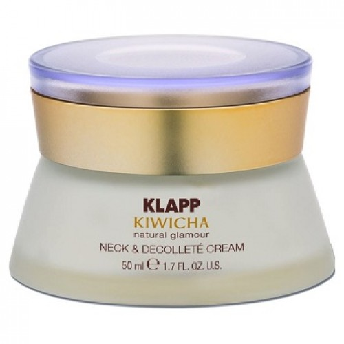KLAPP Kiwicha - Crema de gat si decolteu bio - Neck & Decollete Cream 50ml