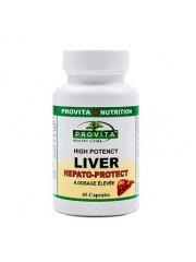 PROVITA - Liver forte hepato-protect - regenerator hepatic 45 caps