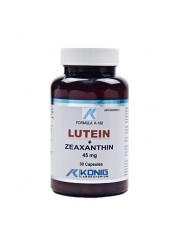 KONIG - Luteina forte cu zeaxantina - tulburari de vedere 30 capsule