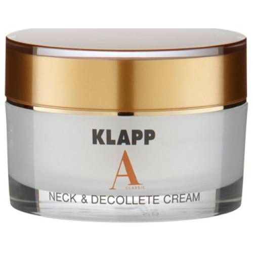KLAPP A CLASSIC - Crema anti-imbatranire gat decolteu Retinol - Neck & Deccolte Cream 50 ml
