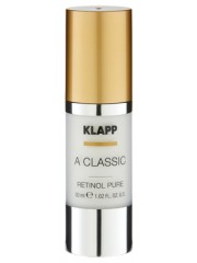 KLAPP A CLASSIC - Ser anti-imbatranire cu Retinol pur - Retinol Pure 30 ml