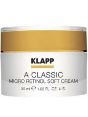 KLAPP A CLASSIC - Crema anti-imbatranire ten mixt Retinol - Micro Retinol Soft Cream 30 ml