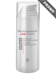 BRUNO VASSARI Collagen Booster - Crema anti-imbatranire Vitamina C - Collagen Booster Power C Peptide Cream 50ml