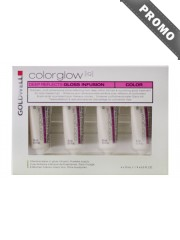 GOLDWELL Colorglow IQ - Tratament intensiv par vopsit - Deep Reflects Gloss Infusion 4 x 10 ml