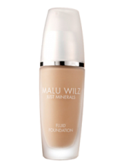 MALU WILZ Just Minerals - FOND DE TEN 03 Light Sunny Sand - FLUID FOUNDATION 03  30 gr