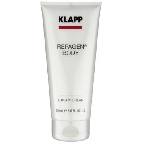KLAPP REPAGEN® BODY - Crema corp piele uscata/matura -40% - Luxury Cream 200 ml