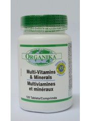 ORGANIKA - Super multivitamine, minerale si nutrienti - 120 tab
