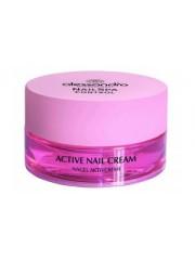 Alessandro - Crema de unghii pentru cresterea unghiilor casante exfoliate - Nail Strengtening Cream  15ml