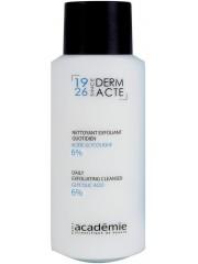 ACADEMIE DERM ACTE - Demachiant exfoliant zilnic acid glicolic 6% - Nettoyante Exfoliant Quotidien Acide Glycolique 6% 250ml