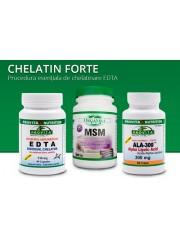 PROVITA - Protocol Chelatin forte - eliminare metale grele, decalcinare artere 3Fflac