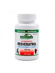 PROVITA - Resveratrol sinergic - circulatie,antitumoral, antioxidant 250 mg/90 caps