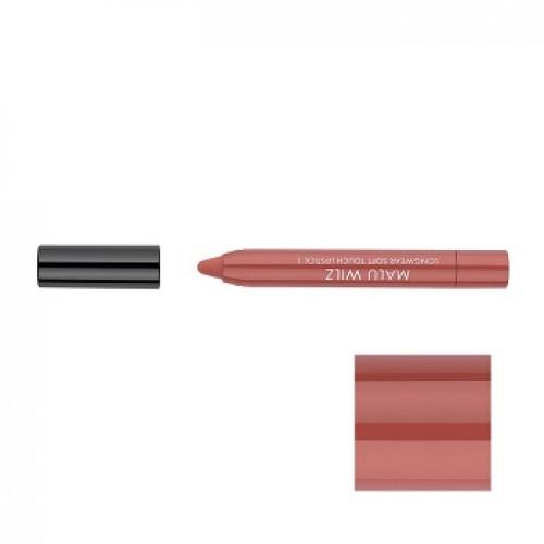 MALU WILZ - Ruj hidratant mat rezistent 01 - Longwear Soft Touch Lipstick Nude Love 1,4gr